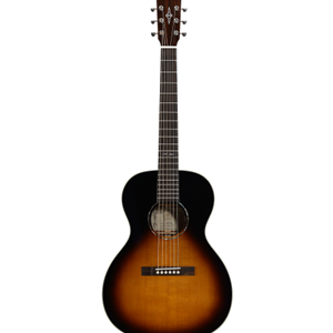 Alvarez Delta00 Jazz and Blues Series Solid Top Acoustic Guitar in Tobacco Sunburst Finish