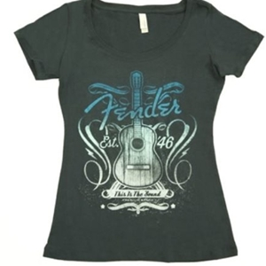 Fender® Ladies Sound T-Shirt- Medium