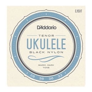 D'addario EJ53T Pro-Arté Rectified Ukulele Strings- Tenor