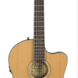 Fender CN140SCE Thinline Concert Body Nylon String Acoustic/Electric with Solid Top