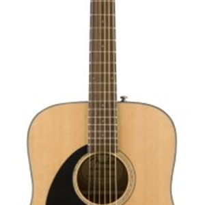 Fender® CD60S LEFT HANDED Dreadnought Acoustic Guitar in Natural Finish