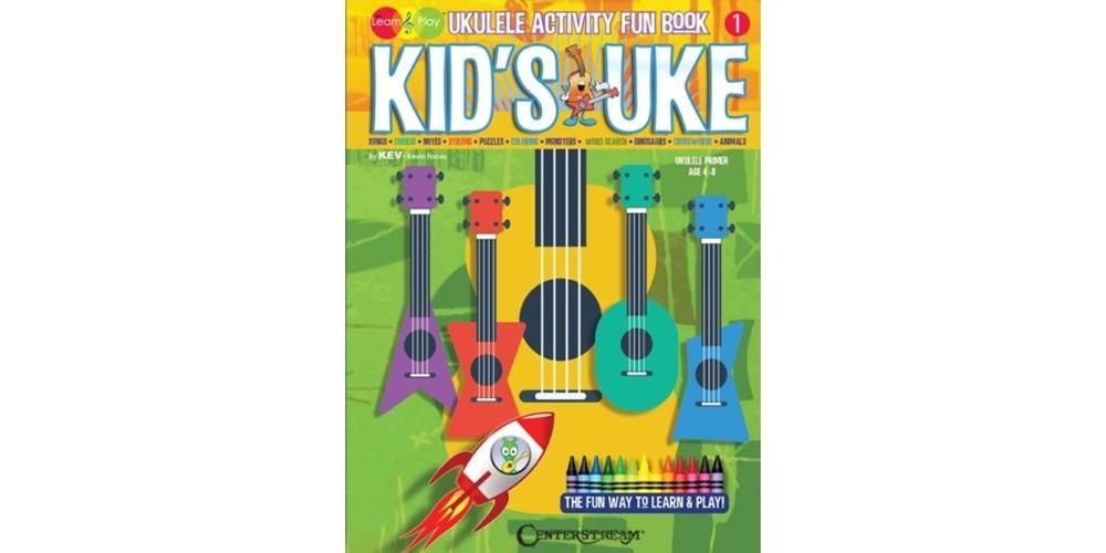 Kids Uke Ukulele Activity Book