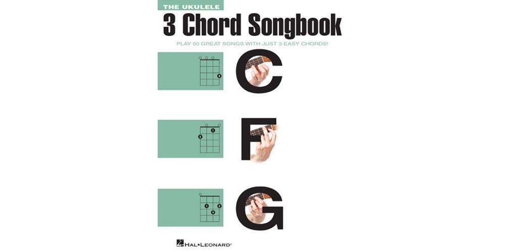 Lanham Music The Ukulele 3 Chord Songbook